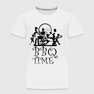 BBQ Time 3 - Toddler Premium T-Shirt