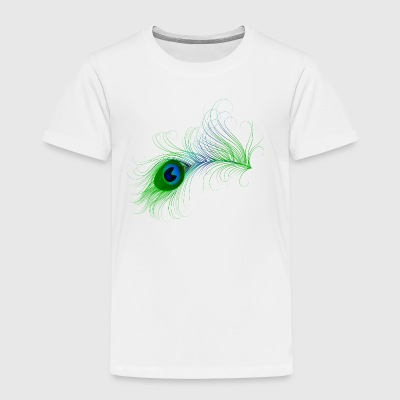 Peacock Feather - Toddler Premium T-Shirt