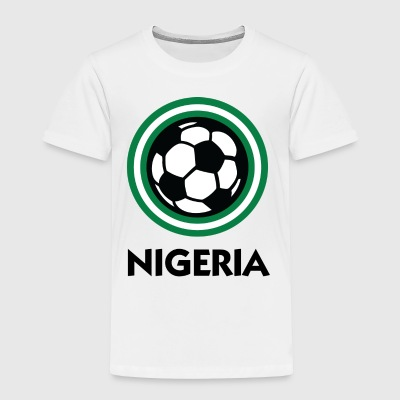 Nigeria Football Emblem - Toddler Premium T-Shirt