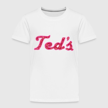 Classic Retro Vintage Ted's on Woodward Michigan - Toddler Premium T-Shirt