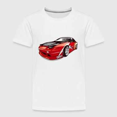 cars drift - Toddler Premium T-Shirt