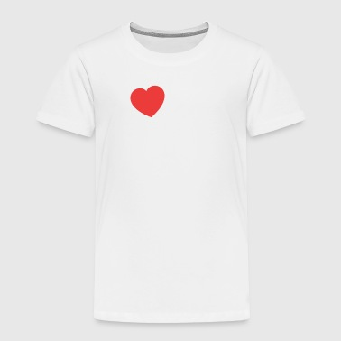 I Heart My Big Brother - Toddler Premium T-Shirt