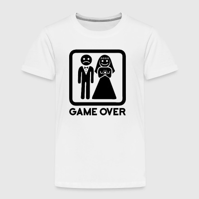 game over - Toddler Premium T-Shirt