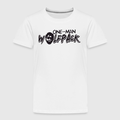 One Man Wolfpack - Toddler Premium T-Shirt