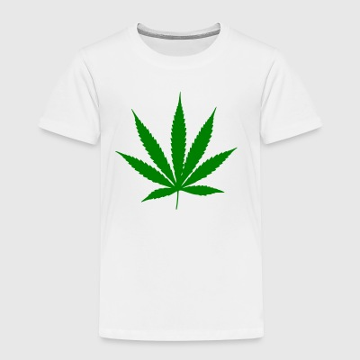 Cannabis leaf - Toddler Premium T-Shirt