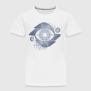 ODIN amp 039 S EYE - Toddler Premium T-Shirt