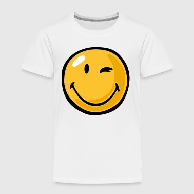 SmileyWorld Winking Smiley - Toddler Premium T-Shirt