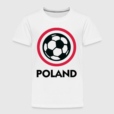 Poland Football Emblem - Toddler Premium T-Shirt