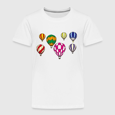 Hot Air Balloons - Toddler Premium T-Shirt