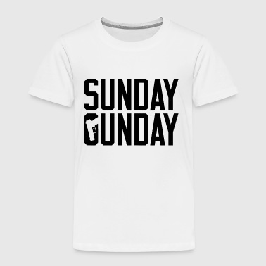 sunday gunday - Toddler Premium T-Shirt