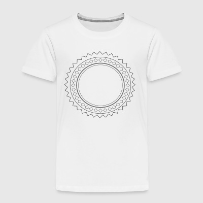 folk sun - Toddler Premium T-Shirt