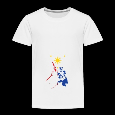 Filipino Map Philippines Flag - Toddler Premium T-Shirt