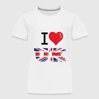I Love UK - Toddler Premium T-Shirt