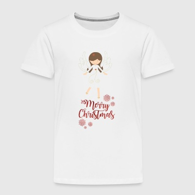 Xmas Angel - merry Christmas - Toddler Premium T-Shirt