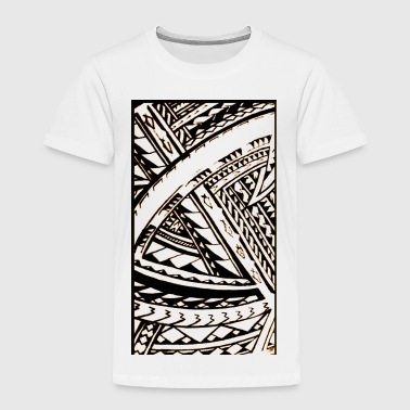 Fili Samoan Tribal art by Sku - Toddler Premium T-Shirt