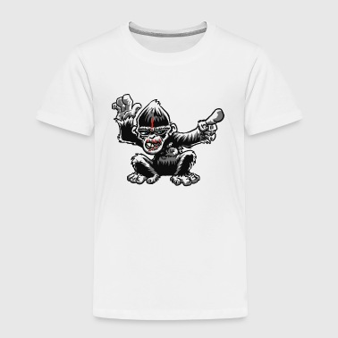 evil ape - Toddler Premium T-Shirt