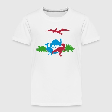 Ancient Dinosaurs - Toddler Premium T-Shirt