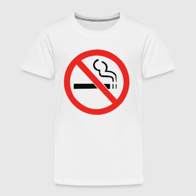 No Smoking Anti - Toddler Premium T-Shirt