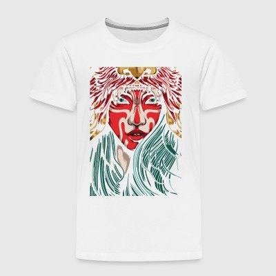 art girl - Toddler Premium T-Shirt