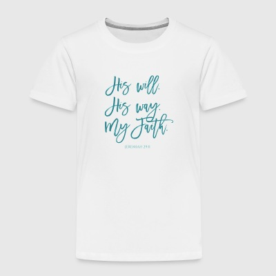 Jeremiah 29:11 - Toddler Premium T-Shirt
