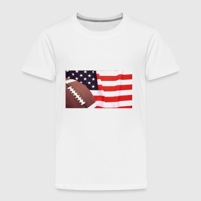 FOOTBALL AMERICAN - Toddler Premium T-Shirt