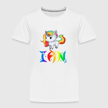 Ian Unicorn - Toddler Premium T-Shirt