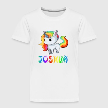 Joshua Unicorn - Toddler Premium T-Shirt