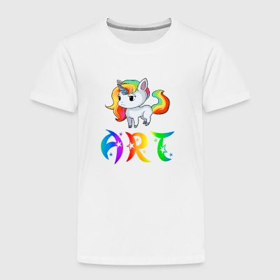 Art Unicorn - Toddler Premium T-Shirt