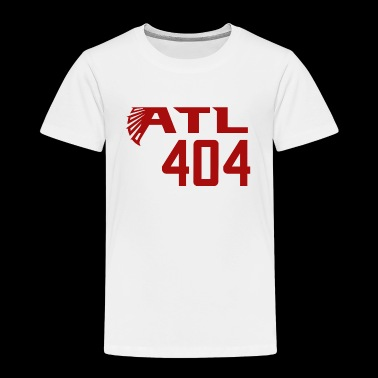 ATL 404 Atlanta Falcons - Toddler Premium T-Shirt
