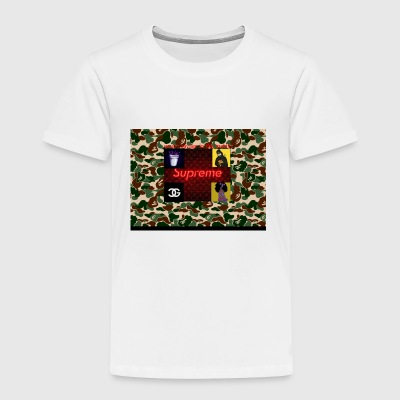 just insta clout - Toddler Premium T-Shirt