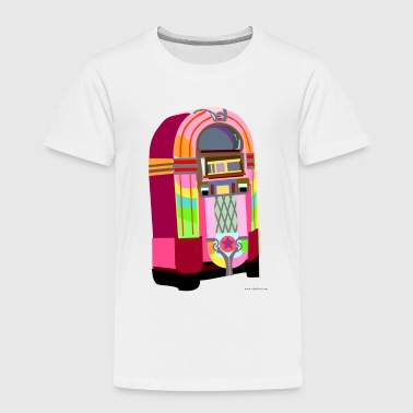 Fun Neon Jukebox - Toddler Premium T-Shirt