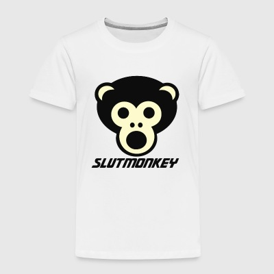 Slut Monkey - Toddler Premium T-Shirt