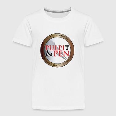Pulpit & Pen T-shirt - Toddler Premium T-Shirt