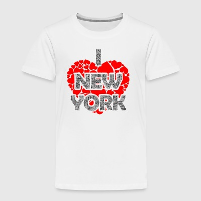 I LUV NY Tees - Toddler Premium T-Shirt