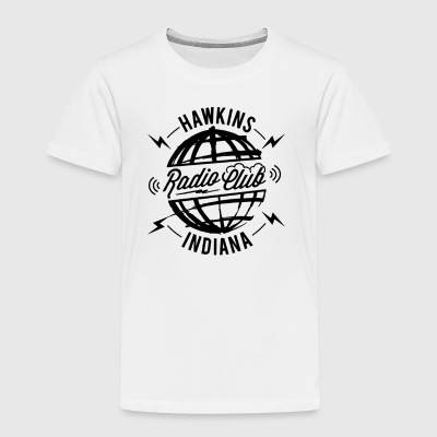 Hawkins Radio Club - Toddler Premium T-Shirt