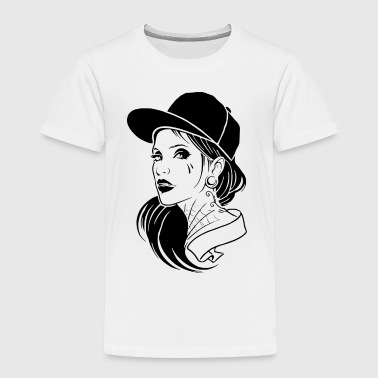 Cool Girl - Toddler Premium T-Shirt