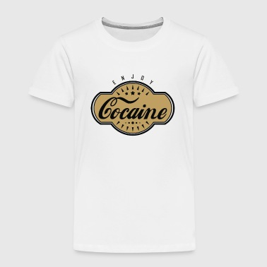 Cocaine - Toddler Premium T-Shirt