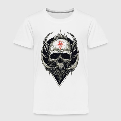 Devil Skull - Toddler Premium T-Shirt