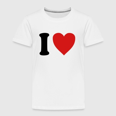I love Gardasee (variable colors!) - Toddler Premium T-Shirt