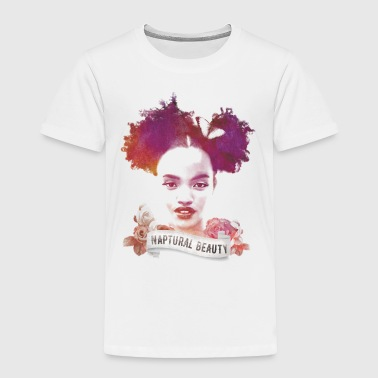 Afro Puffs Girl - Toddler Premium T-Shirt