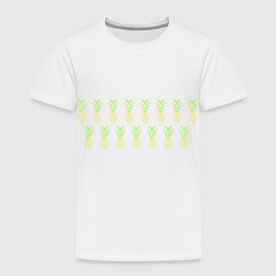 Line pineapple - Toddler Premium T-Shirt