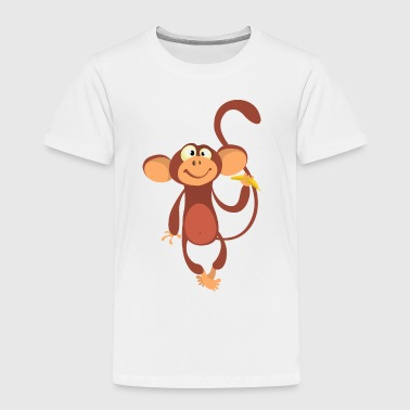 monkey-animal-cartoon - Toddler Premium T-Shirt