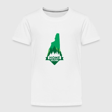 Home Grown New Hampshire - Toddler Premium T-Shirt