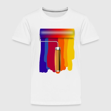 Paint Roller - Toddler Premium T-Shirt