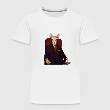 Mafia cat - Toddler Premium T-Shirt