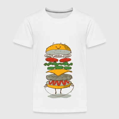 Sporty Fast Food - Toddler Premium T-Shirt