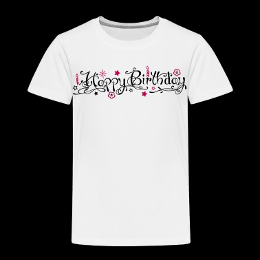 Happy birthday logo - Toddler Premium T-Shirt