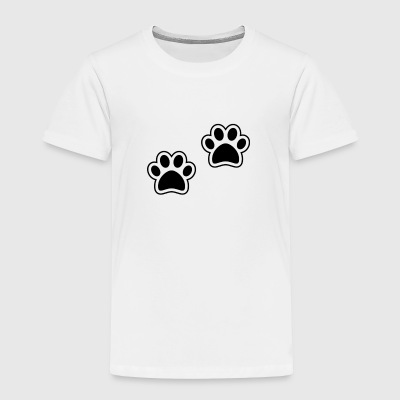 Black Paws - Toddler Premium T-Shirt