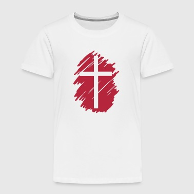 Art Cross Crucifix Christian Design Clothing - Toddler Premium T-Shirt