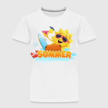 Summer Sun - Toddler Premium T-Shirt